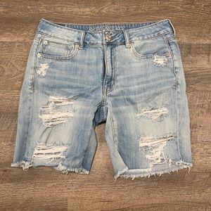 ✨ 2 for $30 ✨ AEO Boyfriend Denim Shorts